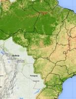 Satélite faz monitoramento da crise hídrica brasileira