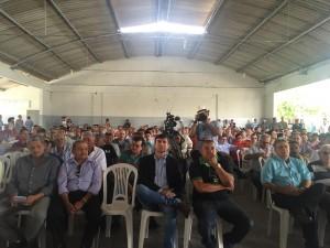 REUNIÃO DOS CANAVIEIROS HOJE NA AABB EM TIMBAÚBA