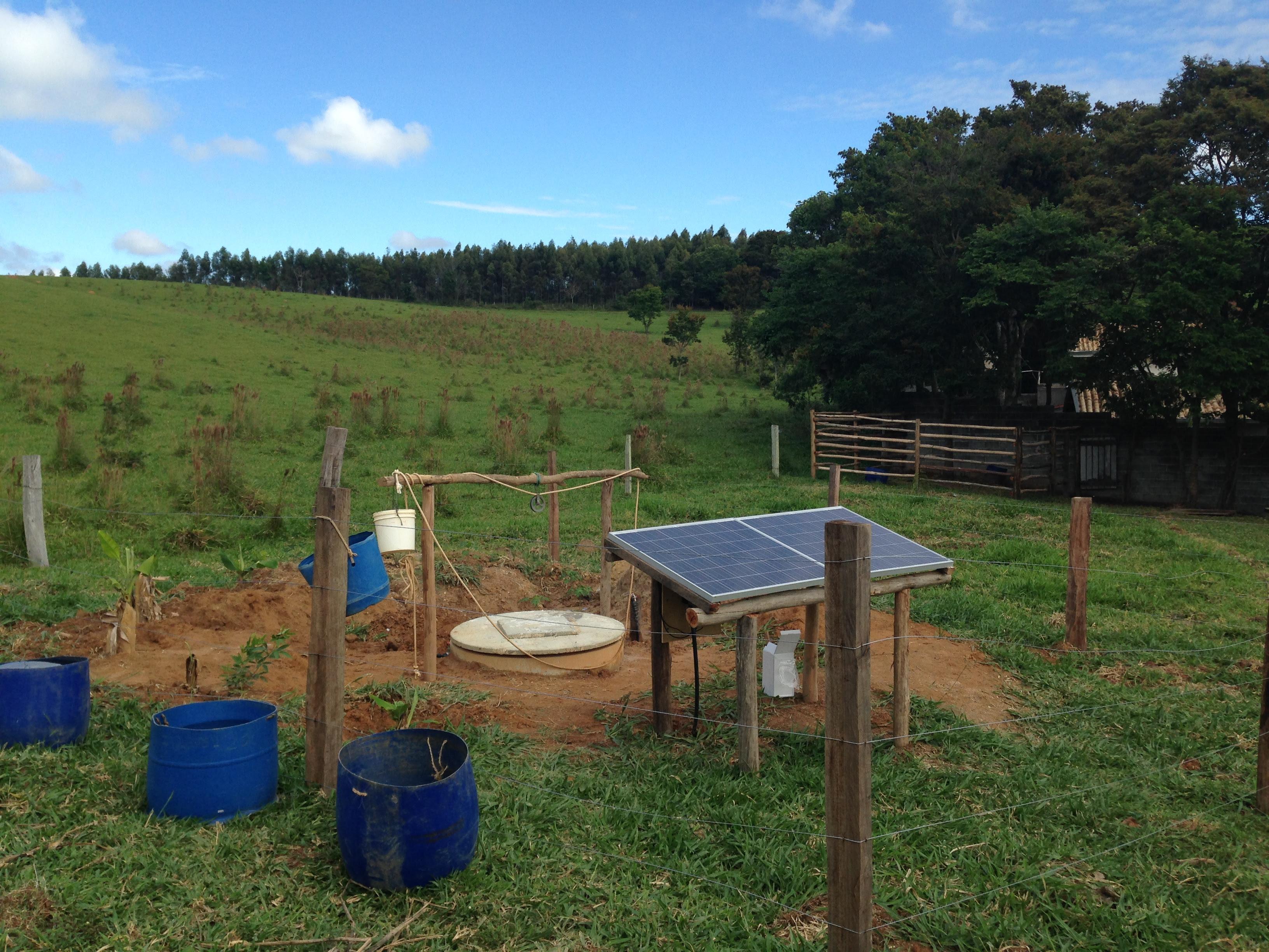 Energia solar para funcionamento de bombas em po os de - Bombas de achique de agua ...