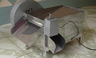Inventada uma máquina para debulhar feijão verde