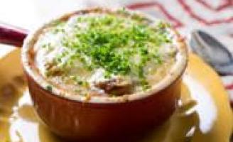 Receita – Sopa de Cebola