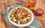 Receita – Salada de Folhas, Queijo Tostado com Molho de Mostarda e Mel