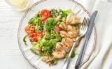 Receita – Salada de quinoa com frango