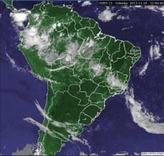 mapa do brasil no satélite