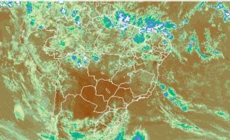 Chove muito em algumas regiões do pais mas o tempo firme em outras prejudica a lavoura