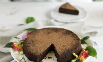 Receita – Uma torta de chocolate totalmente saudável