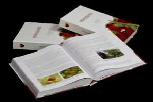 Livro sobre morango