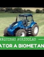 O primeiro trator movido a biometano será apresentado semana que vem no Brasil