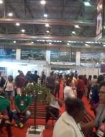 Centenas de visitantes no primeiro dia da Agrinordeste, em Pernambuco
