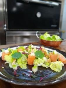 receita salada de salmão