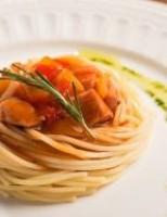 Receita – Espaguete com Lombo de Porco Agridoce