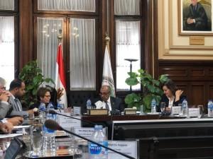 reunião ministra no egito