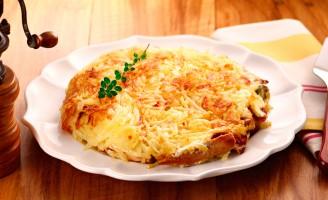 Receita – Batata Rosti Recheada com Cream Cheese e Filés de Atum