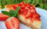 Receita – Cheesecake de Morango Zero Açúcar