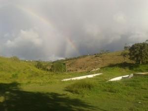 O inverno chega trazendo dois arco-iris  em Pernambuco