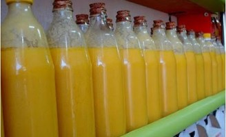 A manteiga de garrafa pode ser feita em casa artesanalmente