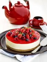 Receita – cheesecake de frutas vermelhas