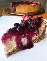 Receita – Cheesecake de Limão com Frutas Vermelhas