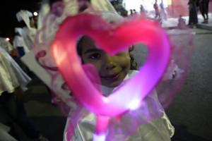 Luzes gravatá - coração