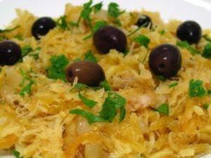 receita - bacalhau com batatas