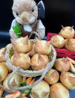 Receita – Pães de Coelhinhos para a Páscoa