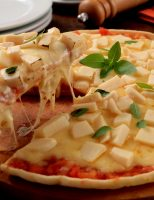 Receita – Pizza sem glúten com massa de tapioca