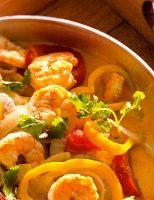 Receita – Sopa de peixe com camarão