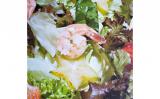 Receita – Salada de folhas e camarão com molho de limão