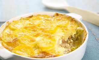 Receita – Batata gratinada com sardinhas